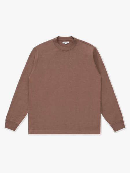 Lady White Co. L/S Rugby T-Shirt - Brown Twig