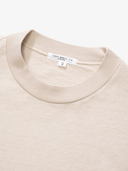 Lady White Co. Rugby T-Shirt - Natural