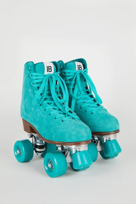 """""""INTENTIONALLY __________."""" RINK SKATE - Turquoise"""