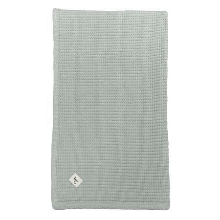 Kids Nico Nico Child Jesse Waffle Blanket - Thyme Green