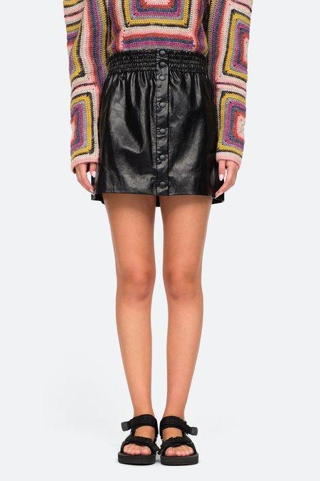 Sea NY Laurence Mini Skirt - Black