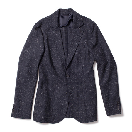 Corridor Tropical Wool Blazer - Navy