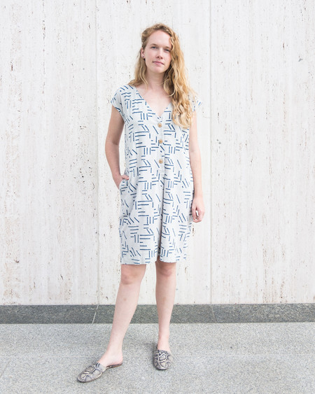 ESBY + SEEK COLLECTIVE CAROLINE SHIFT DRESS