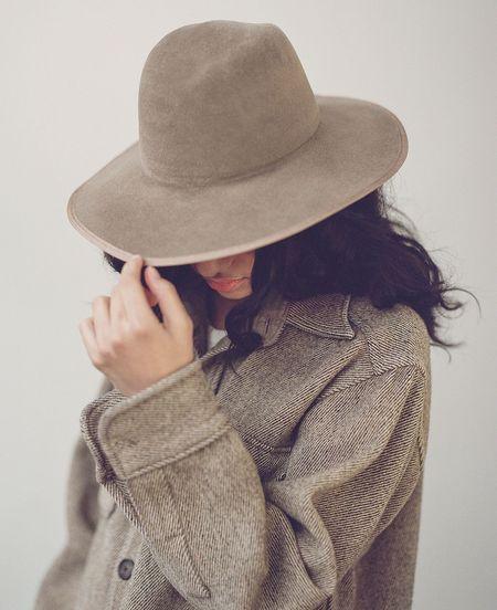 Brookes Boswell VELOUR FELT SIMON hat