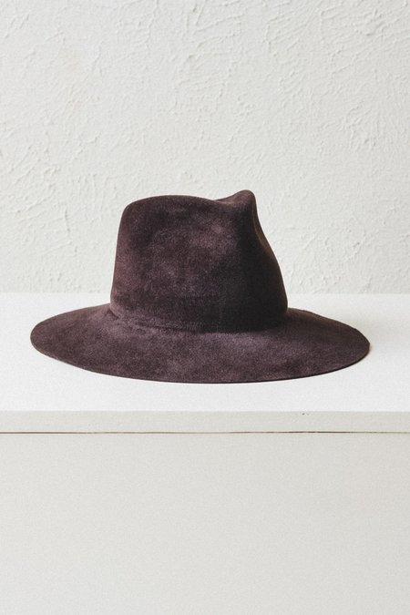 Brookes Boswell Velour Felt Wakefield Hat