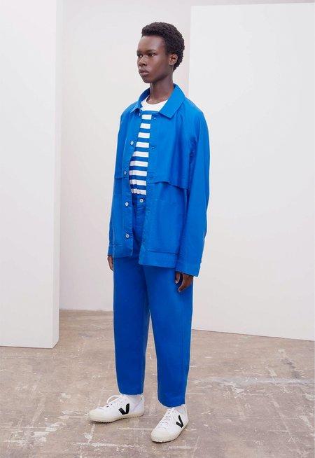 Kowtow Everyday Jacket - workwear blue denim