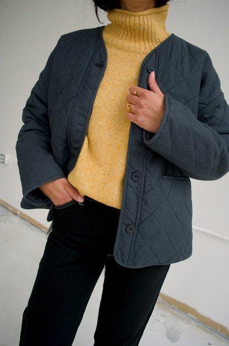 Micaela Greg Cross Quilt Jacket - Green