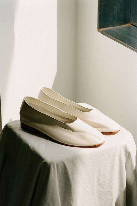 Martiniano Glove BALLET FLATS - Marble