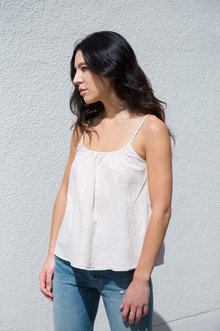 Lacausa Sush Top In Peony