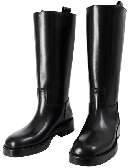 Ann Demeulemeester Stein boots - Black