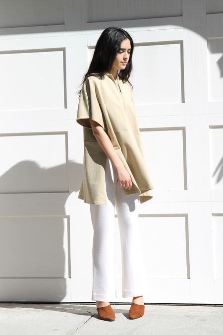 REVISITED MATTERS COTTON PONCHO TOP