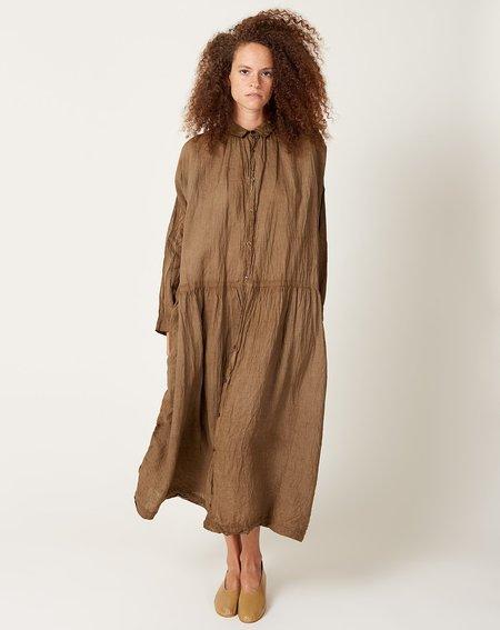 ICHI ANTIQUITES Linen Dress - Doro