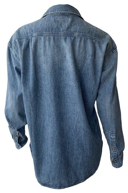 Mother Denim The Overshirt - Blue