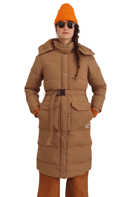 THE NORTH FACE Women's Sierra Long Parka - Brown