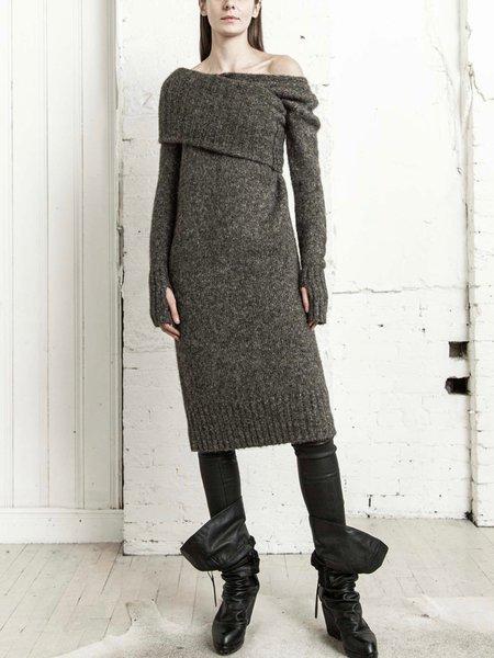 Nicholas K Cypress Sweater Dress - Tobacco Heather