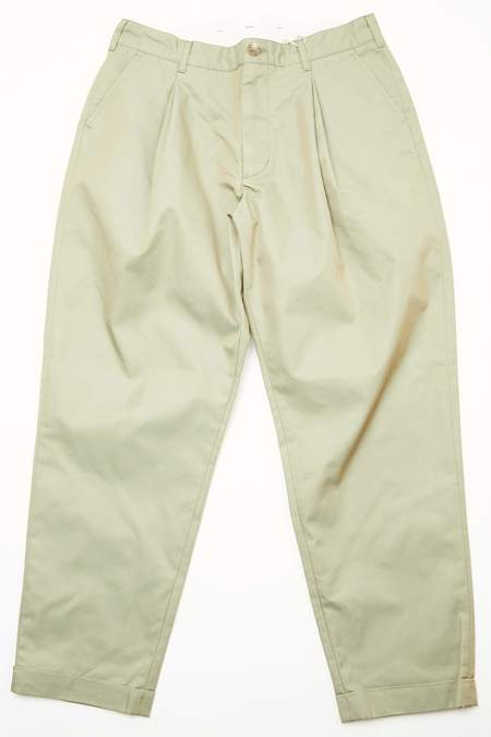 Engineered Garments Women's WWP Pant - Olive PC Iridescent Twill A