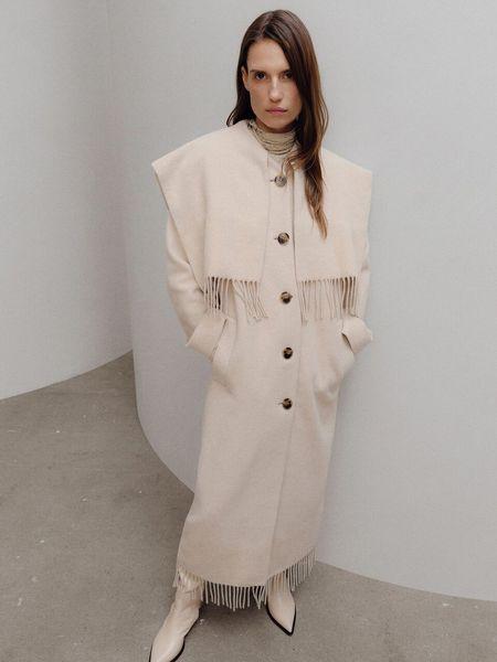 Maisha Coat-Cream