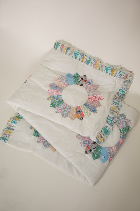 Sea NY Patchwork Quilt
