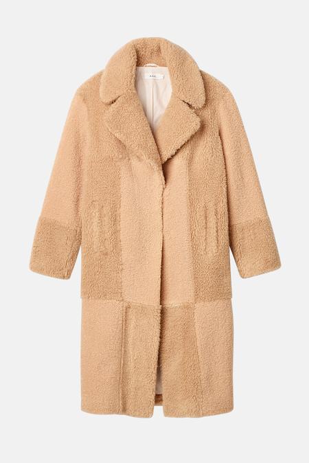 A.L.C. Stanford Coat - Tan