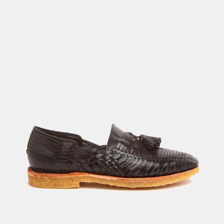 The CANO Shoe FRIDA Natural shoes - Black
