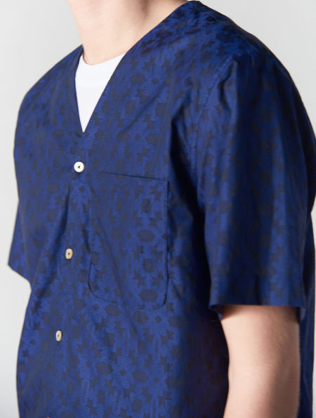 A Kind Of Guise Spruzzo Shirt Navy