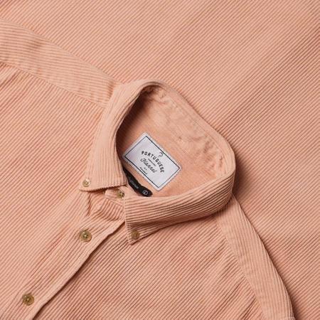 Portuguese Flannel Lobo Shirt - Old Rose