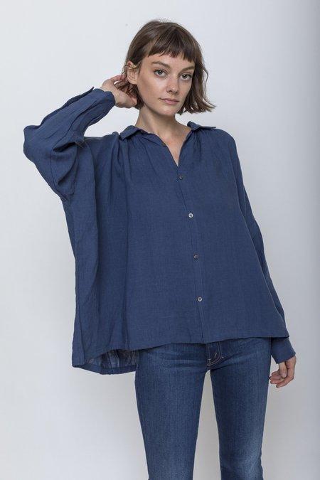 ICHI ANTIQUITES Woven Linen Shirt