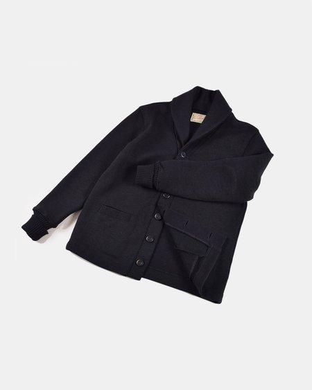 Dehen Shawl Sweater Coat - Dark Navy