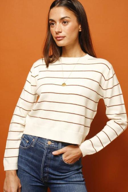 Sadie & Sage Daydreaming Stripe Sweater