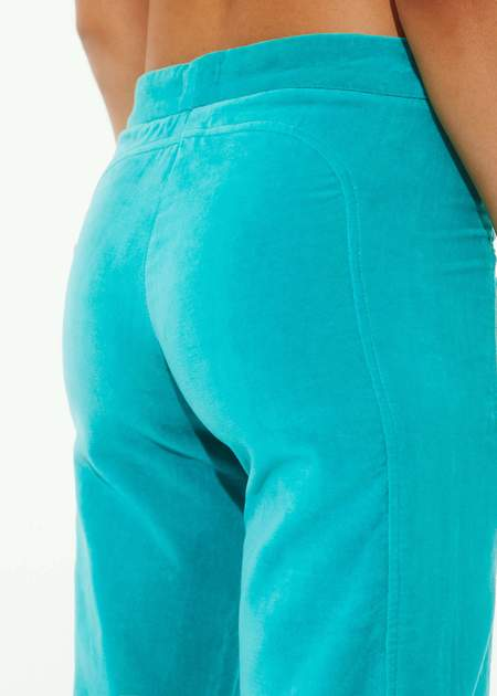 Gimaguas Annecy Trouser - Beige/Turquoise