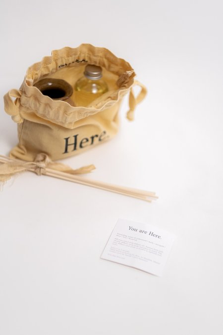 Here. You Are Here. Diffuser Set