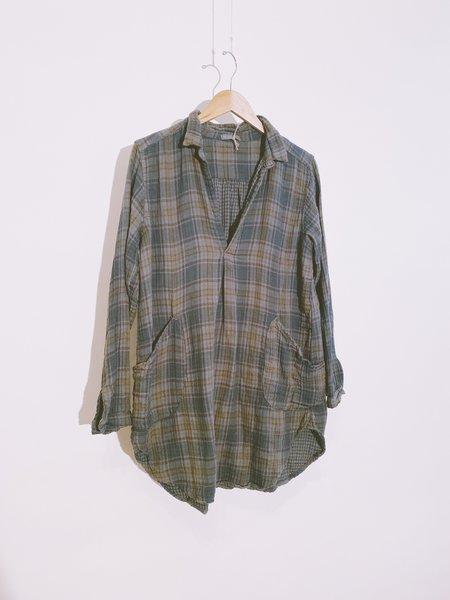 CP SHADES Teton Plaid Tunic - Khaki