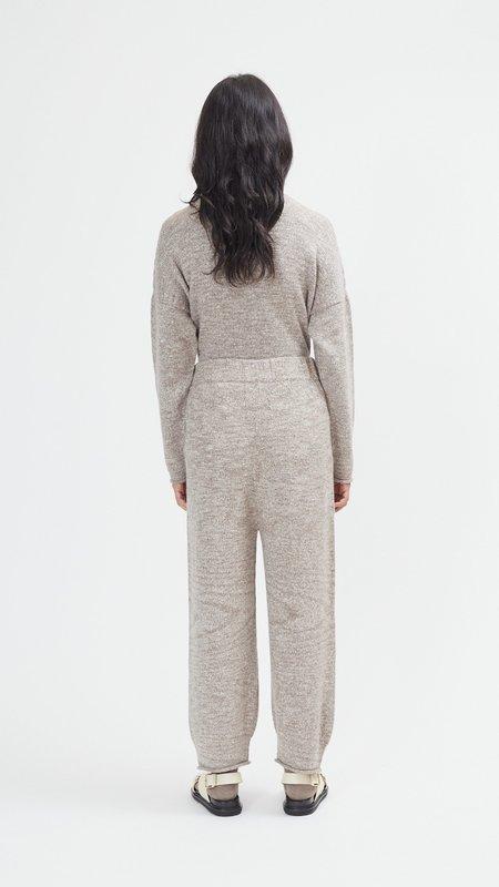 Lauren Manoogian Roll Pants - Walnut Slub