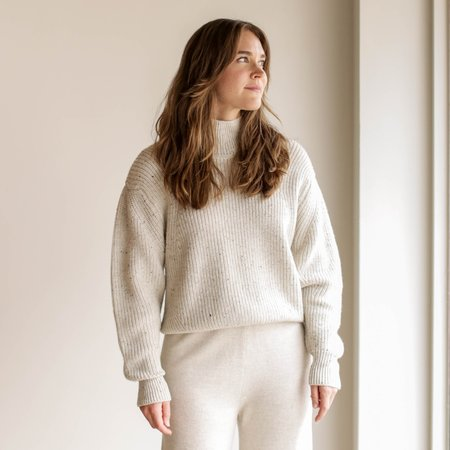 Micaela Greg Shae Sweater - Chalk