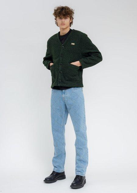 PLEASURES Washed Feeling Denim Jeans - BLUE