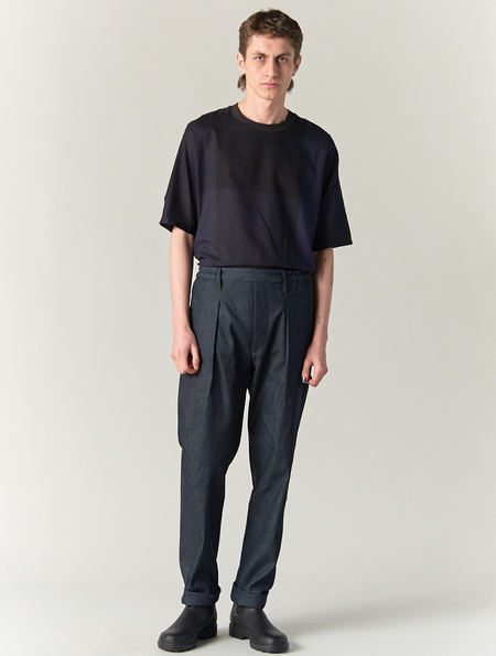 Lemaire Elasticated Denim Trousers