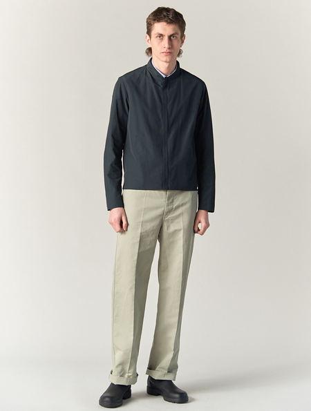 Lemaire Light Grey Work Pants