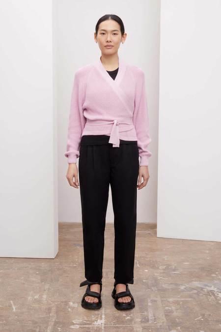 Kowtow Composure Cardigan - pastel pink