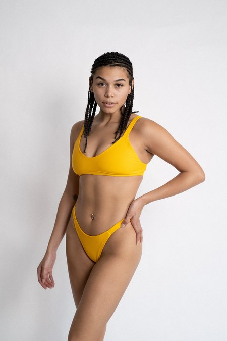 The Saltwater Collective Layla Top - Citrus