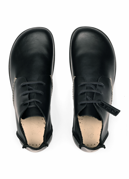 YMC x Yogi Women's Archer Leather Shoes - Black