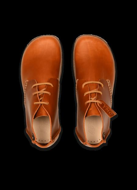 Yogi x YMC Men's Leather Archer Shoes - Tan