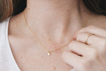 Katye Landry Mini Heart Necklace