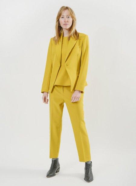 Meg Suit Shell - Mustard