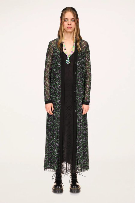 Lily of the Valley Cardigan - Black