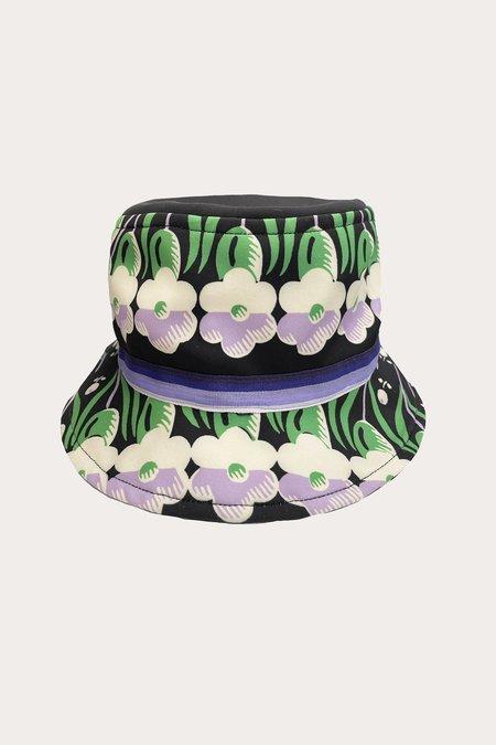 Pansy Panel Bucket Hat-Prints
