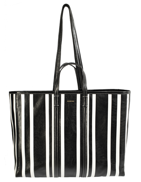 Balenciaga Barbes Large Shopper Bag-Prints