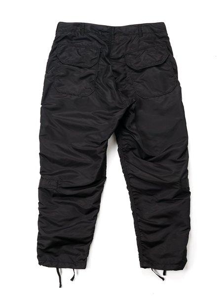 Engineered Garments Flight Satin Nylon Aircrew Pant - Black