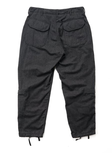 Engineered Garments Aircrew Wool Cotton Flannel Pant - Grey