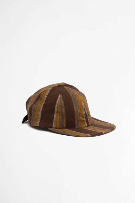 Battenwear flannel vertical stripe Field cap - Brown