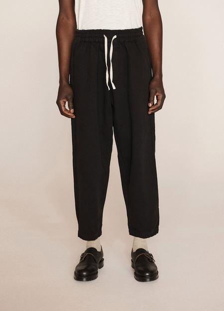 Unisex YMC x Esquire Alva Skate Hopsack Cotton Trousers - Black